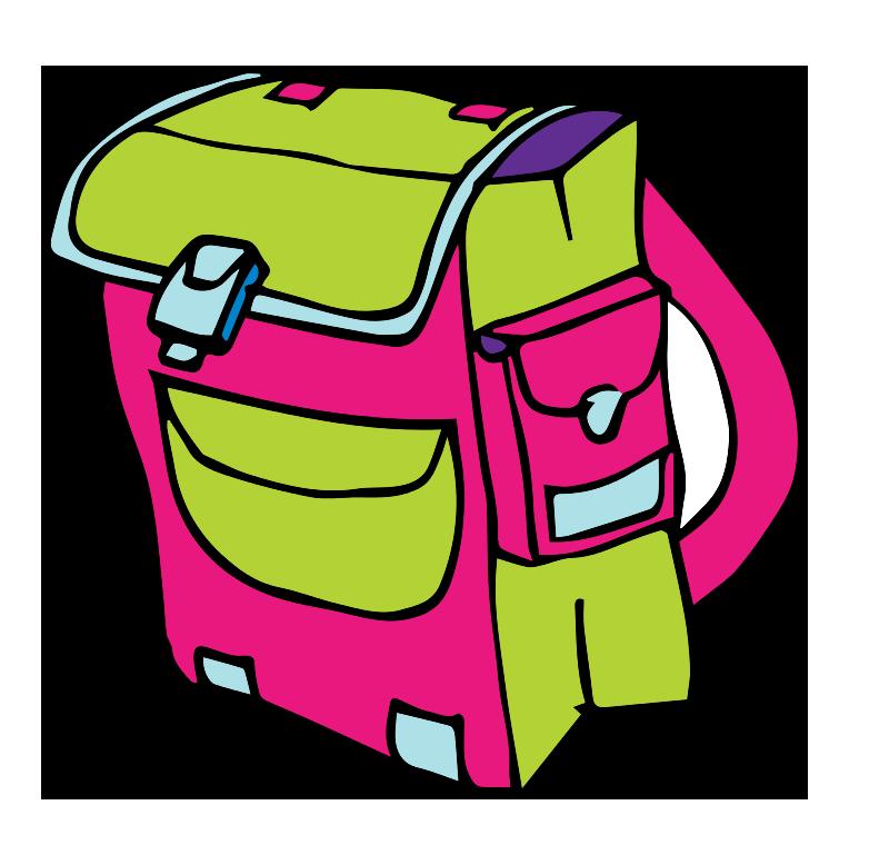 Bag clipart children's Clip Backpack white backpack art