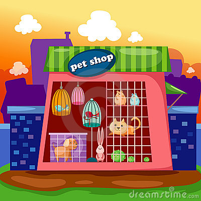 Inside clipart pet store Clipart Stock (50+) pet cartoon