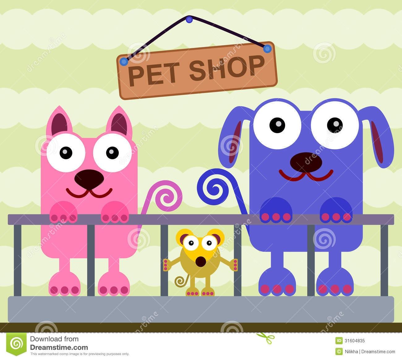 Inside clipart pet store Art Store Art Clipart Pet