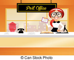 Inside clipart post office Post A office; of of