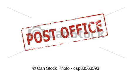 Inside clipart post office Csp33563593 post EPS office with
