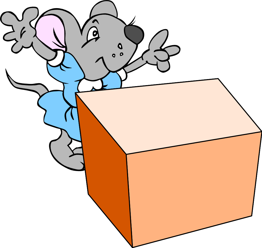 Inside clipart preposition Mouse the the that location