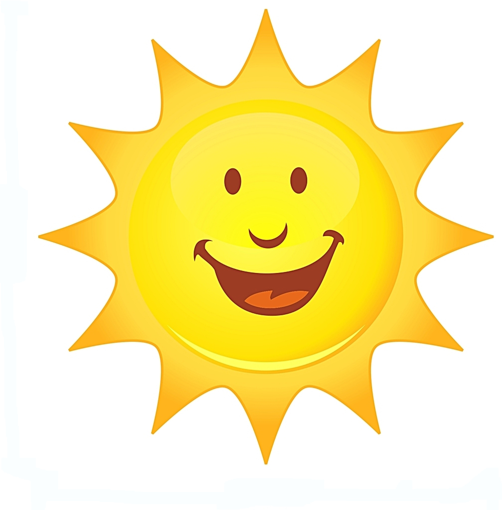 Calm clipart sun smiling Others Cliparts Smile Smile and