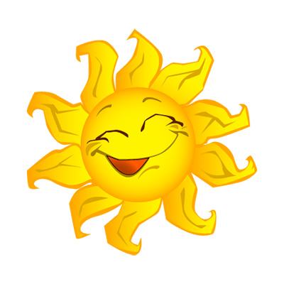Inspirational clipart corner sun Sunshine Happy clip Bright Bright