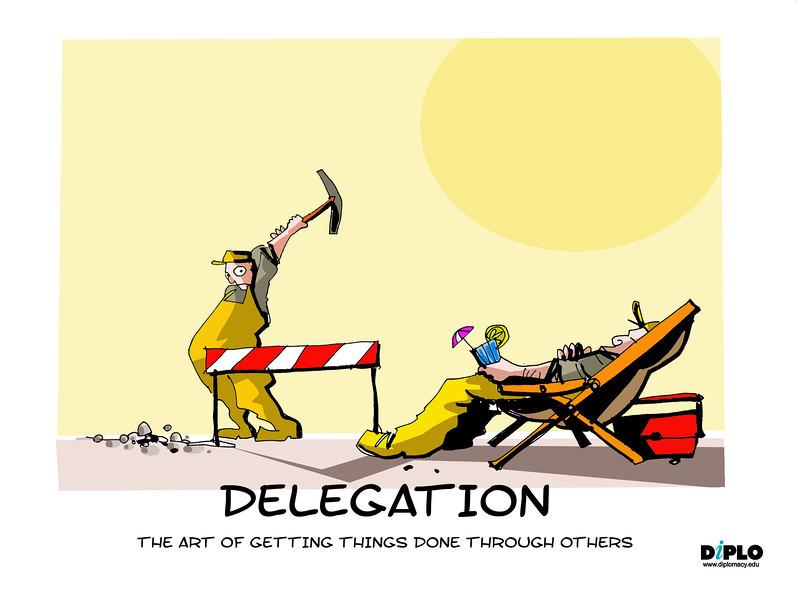 Inspirational clipart delegation Delegation Delegation Diplo Corner Learning