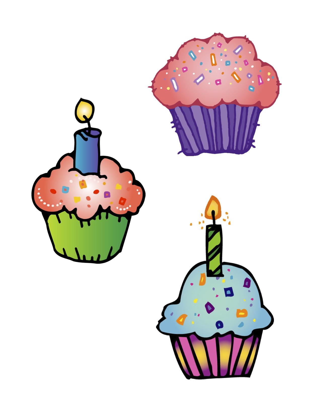 Birthday clipart muffin Inspiration Art Art Clip Cupcake