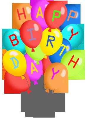 Balloon clipart happy birthday Graphics Birthday Free Happy Stuff