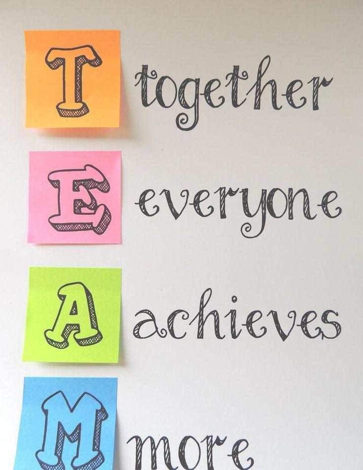 Inspirational clipart individual work Pinterest Coaching Teamwork 25+ on