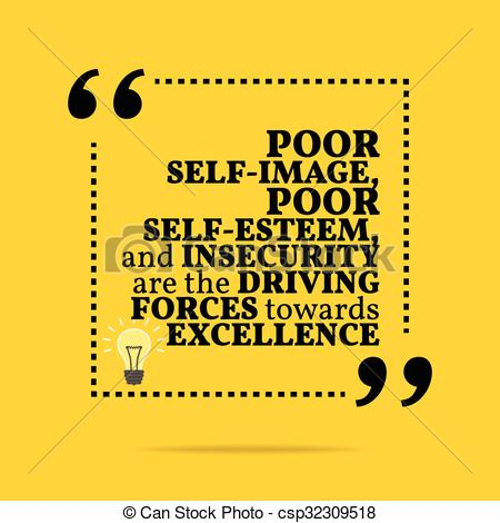 Inspirational clipart self motivation Clip of quote insecurity Art