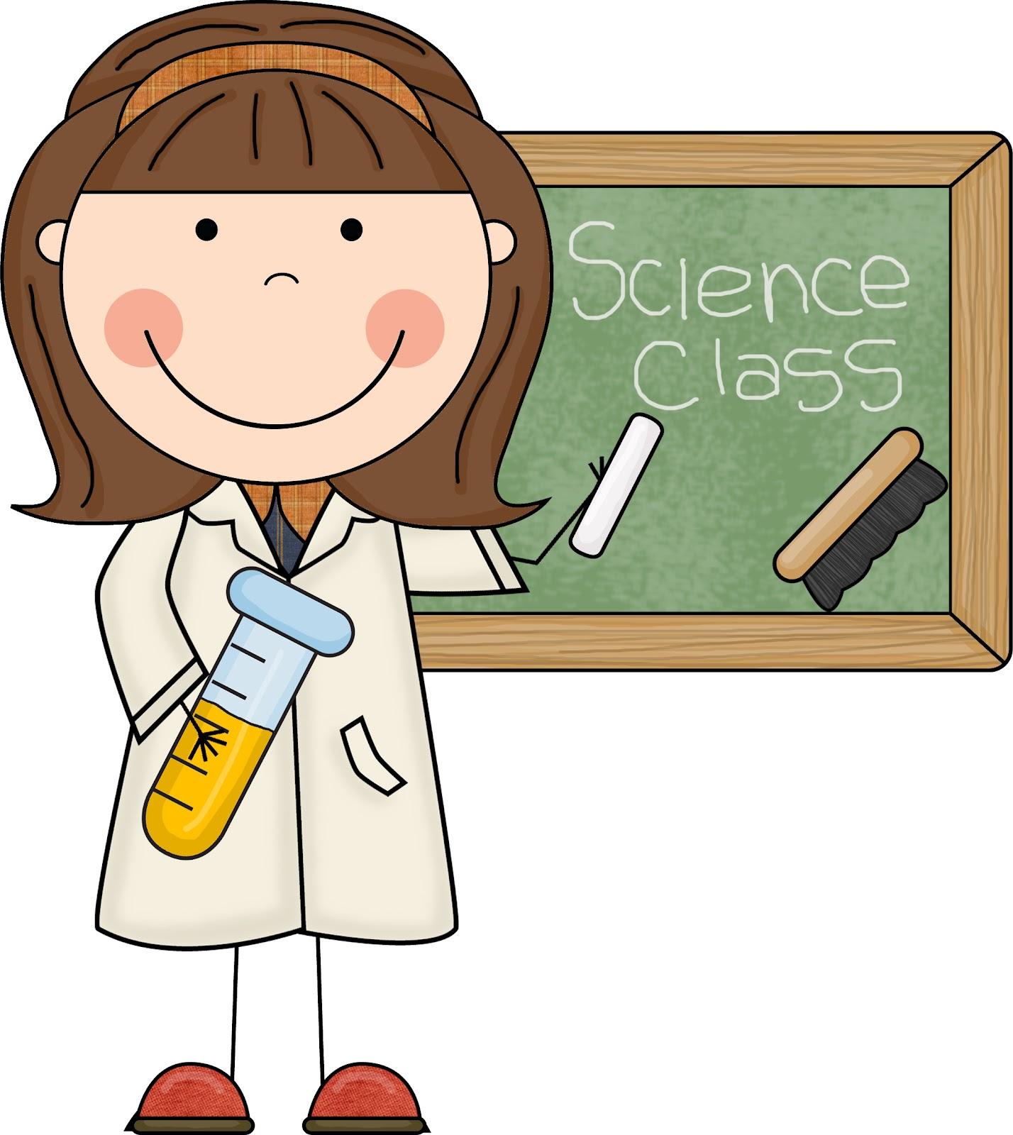 Scientist clipart kindergarten science #1