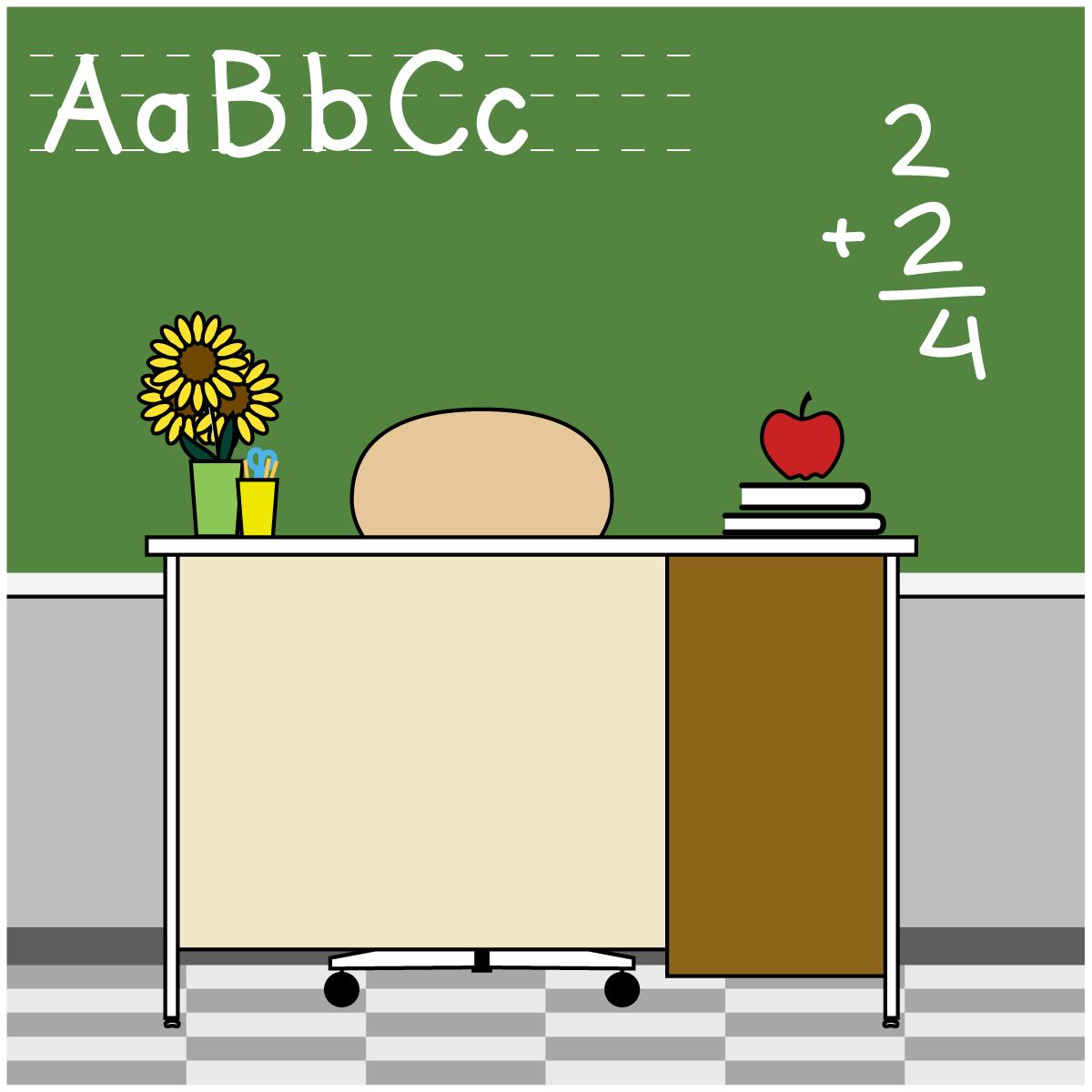 Desk clipart elementary school classroom Art School/Educational Inspiration Clip Others