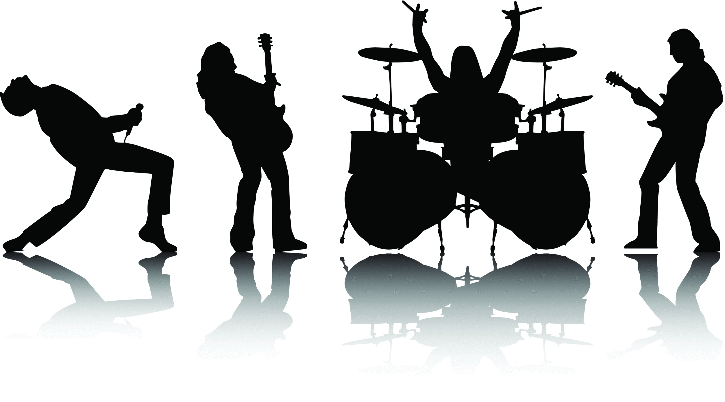 Musician clipart talent show Art Rock Band and #7790