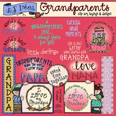 Inspirational clipart virtue By needed Grandparents a world