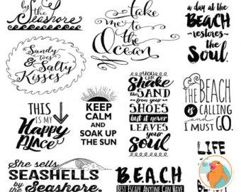 Inspirational clipart word Typography Art Word Scrapbook &