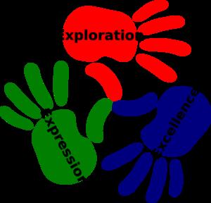 Inspiring clipart  Hands at Hands Clip