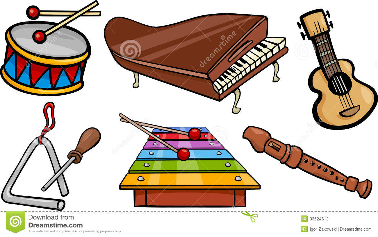 Folk clipart musician Art Free Free Instrument Images