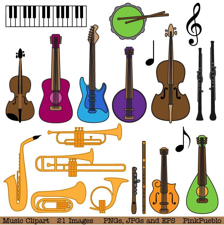 Instrument clipart And Clip Instrument Clipart Musical