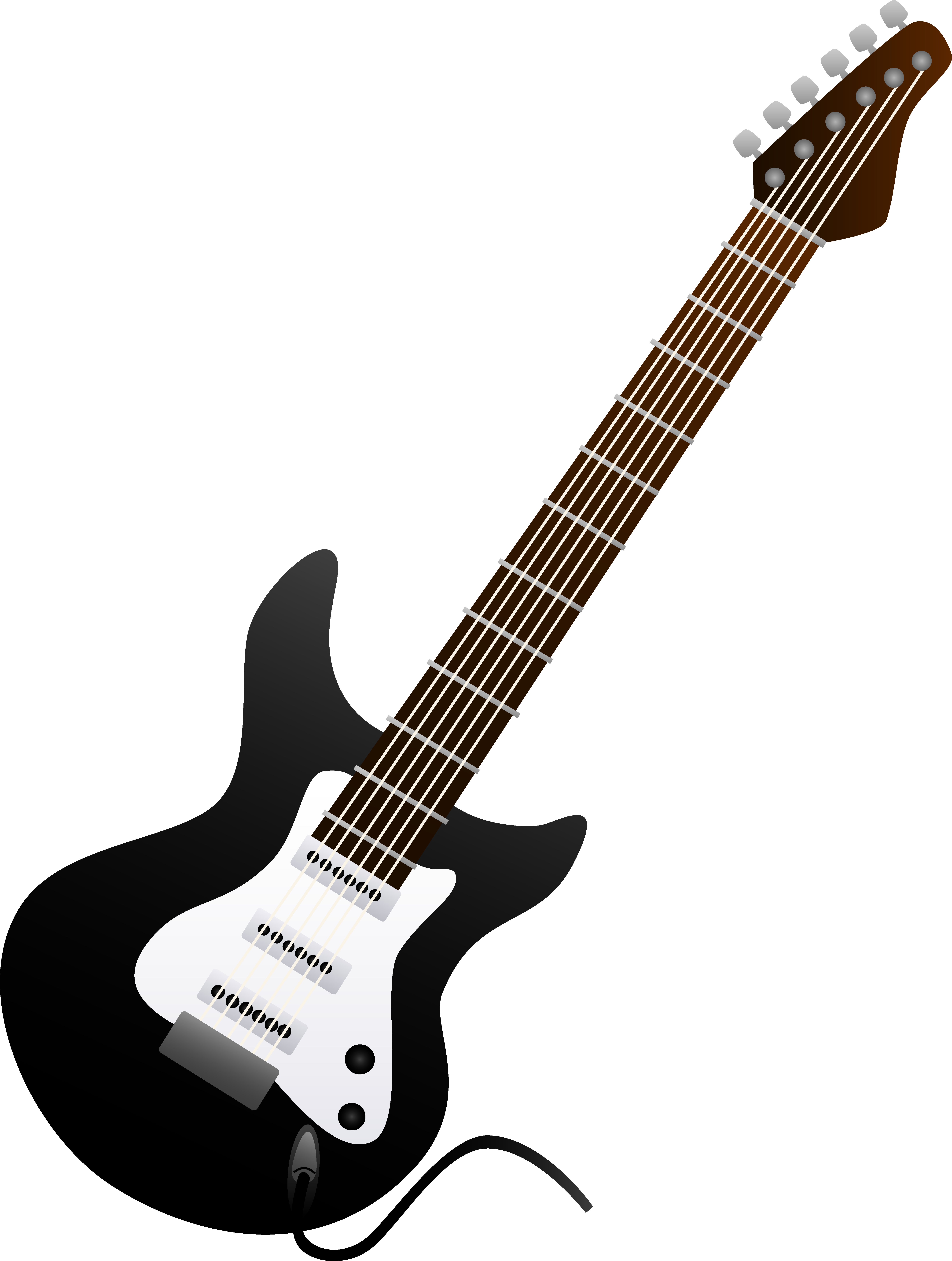 Blur clipart electric guitar And and white free guitar