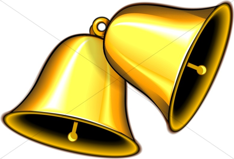 Chimes clipart instrument Church Bell Pair Clipart Ringing