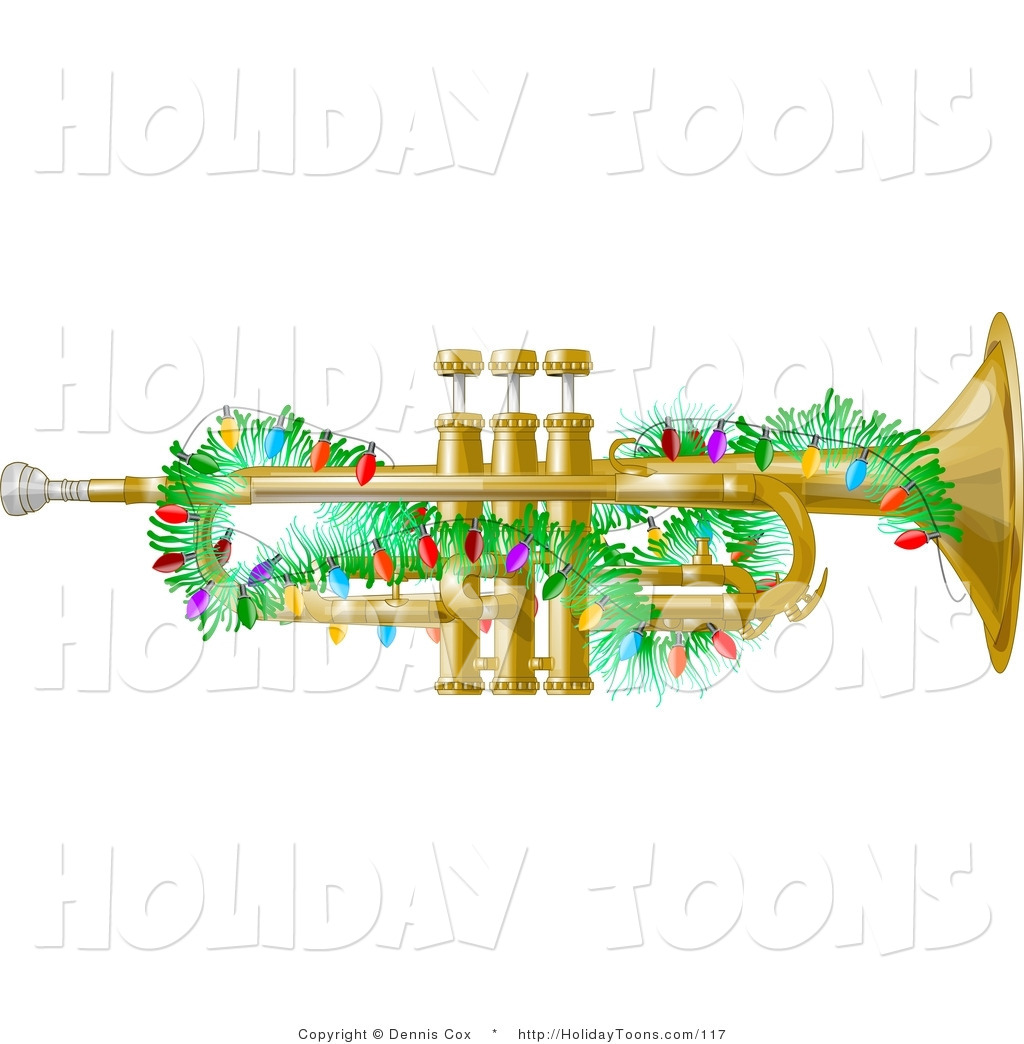 Brass clipart free music Gold Gold Lights Free Holiday