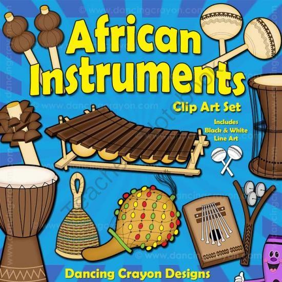 Continent clipart african music (20 from TeachersNotebook Pinterest Musical