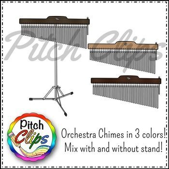 Chimes clipart instrument Commercial Orchestra/Classroom ChimesInstrumentsClip The on