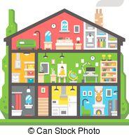 Interior clipart  design interior design home