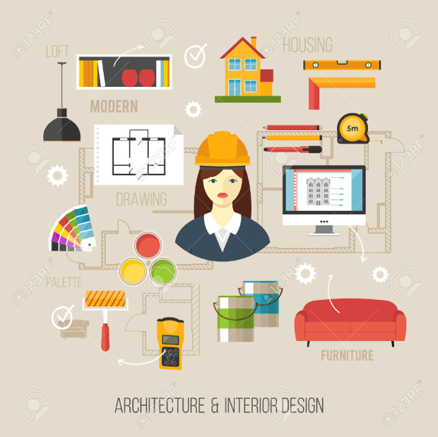 Interior Designs clipart Vector Designs Format PNG Design
