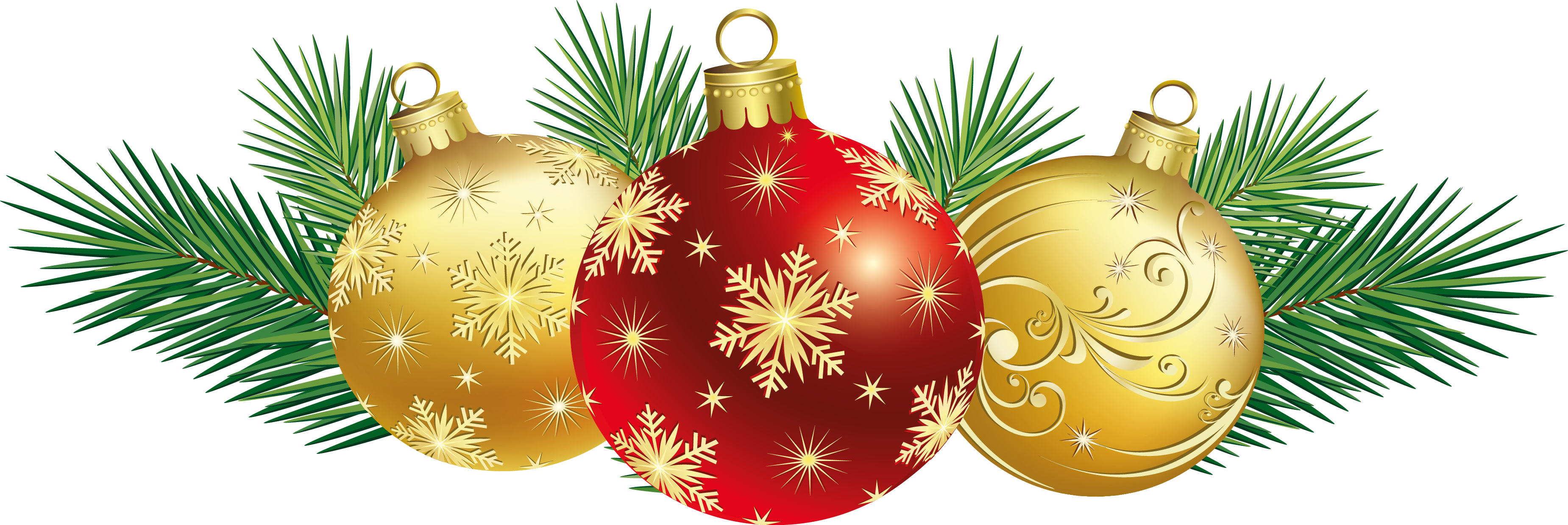 Christmas Tree clipart decorative Simple At Design Ornaments