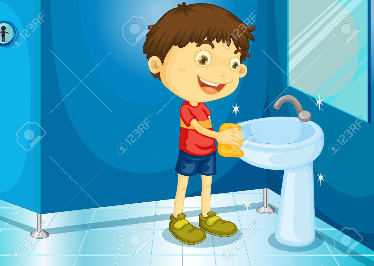 Interior Designs clipart clean bathroom Clip Clean Clean Home And