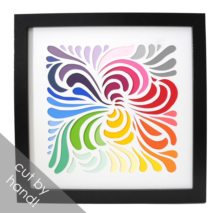 Interior Designs clipart colorful swirl Cut swirls hand swatches interior