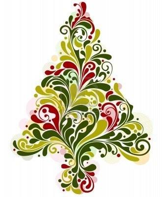 Interior Designs clipart colorful swirl Tree Random Christmas images Pinterest