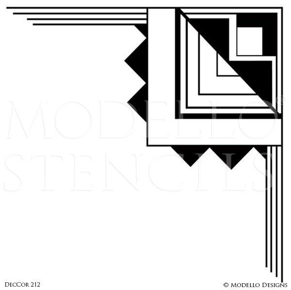 Interior Designs clipart corner Stencils Art Interior Modello® Designs