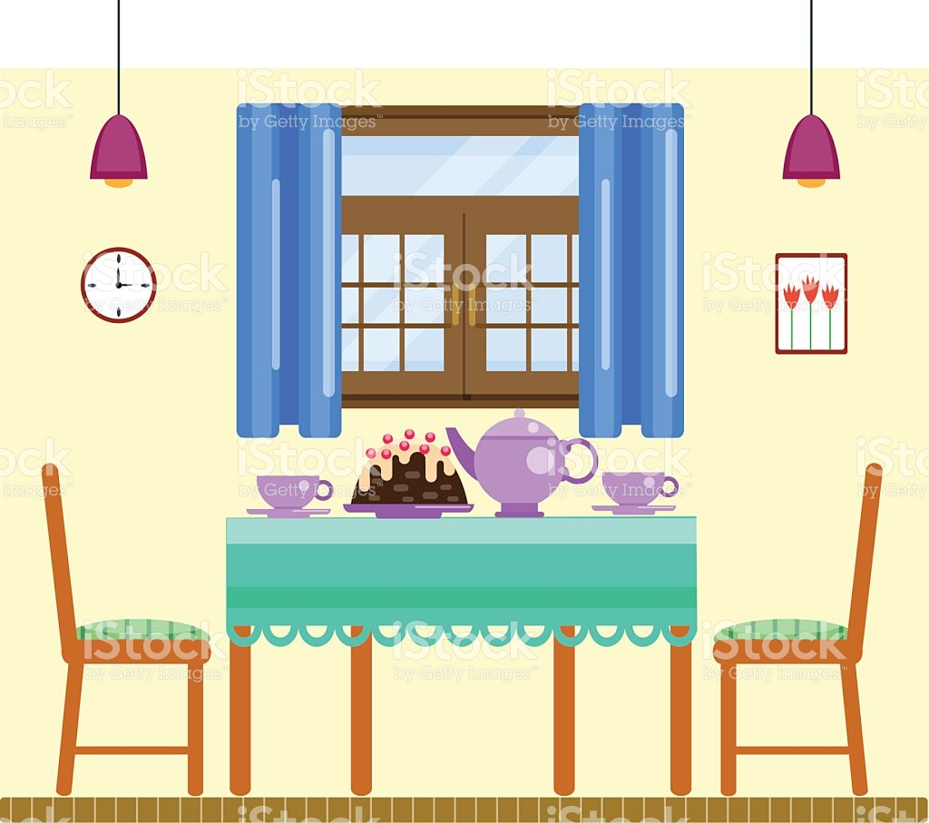 Interior Designs clipart dining room Collection Interior Room table dining