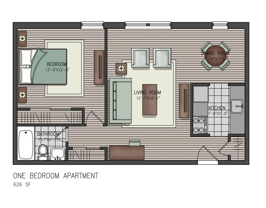 Bedroom clipart house blueprint #1