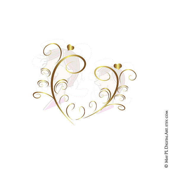 Decoration clipart art file Download Decoration Flourishes GOLD Elegant