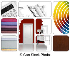 Interior Designs clipart house renovation Art EPS Renovation  Clip