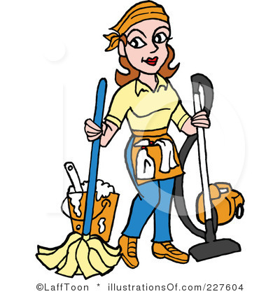 Interior Designs clipart housekeeping Free (RF) Clipart by Housekeeping