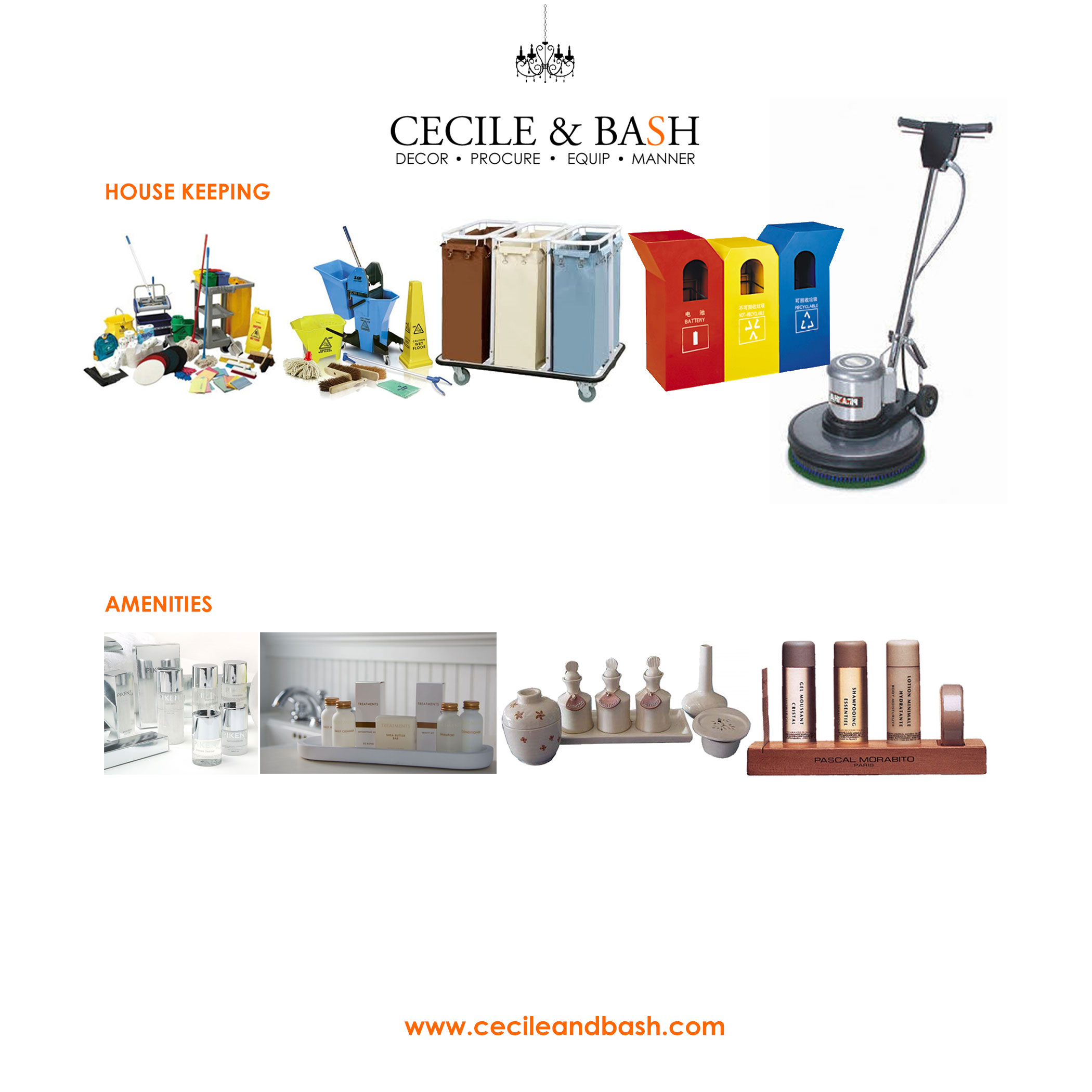 Interior Designs clipart housekeeping Bash Interior  and Cecile