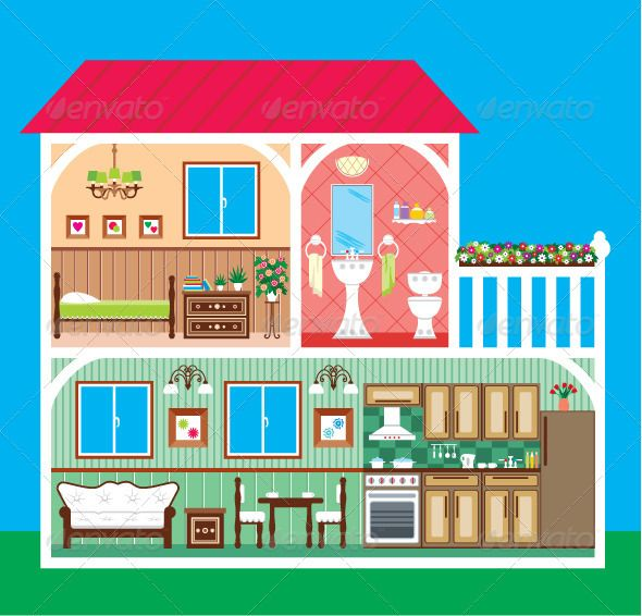 Hosue clipart part the house In 53 House about cut