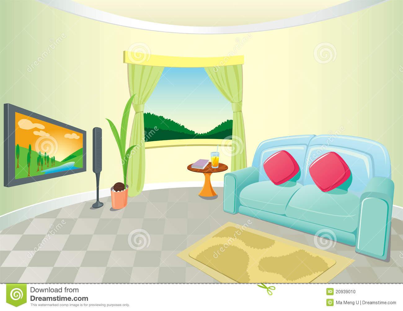 Interior Designs clipart lounge Art Free Clipart Clip Images