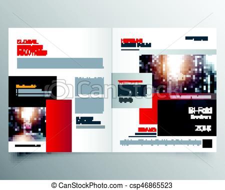 Interior Designs clipart magazine cover Magazine page of design or