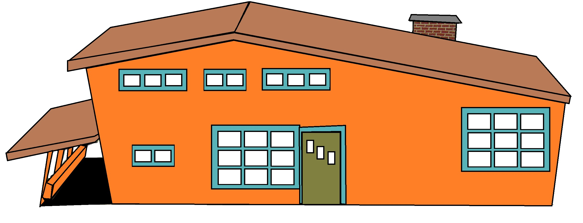 Interior Designs clipart my house Modern Paint Mid Home idolza