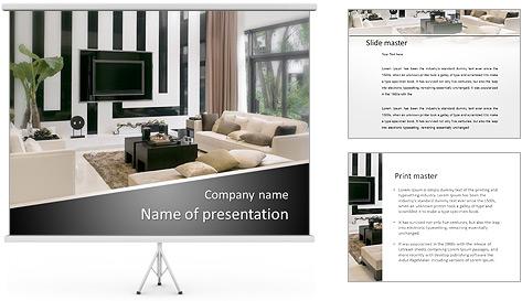 Interior Designs clipart powerpoint presentation Room & PowerPoint PowerPoint Template