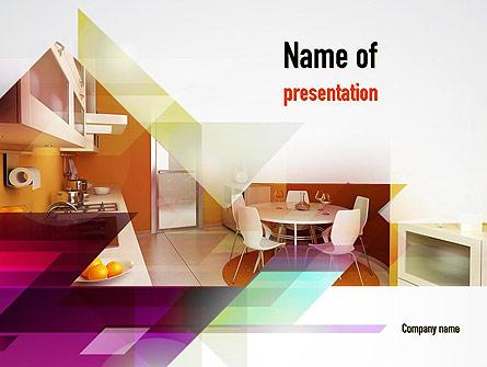 Interior Designs clipart powerpoint presentation Backgrounds  PowerPoint for Kitchen