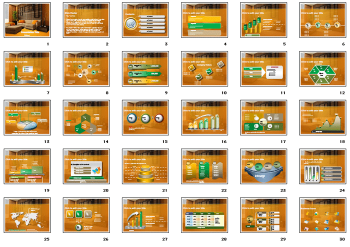 Interior Designs clipart ppt free download Presentation PowerPoint Backgrounds Themes and