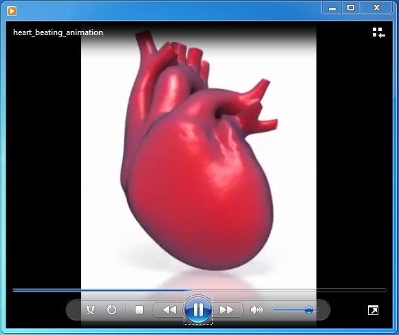 Interior Designs clipart ppt free download PowerPoint Heart Beating Organ or