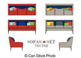 Interior Designs clipart sofa set For Your Pouf Sofas Interior