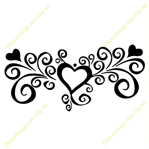 Line clipart swirly pattern Art Clip with Clipart swirls