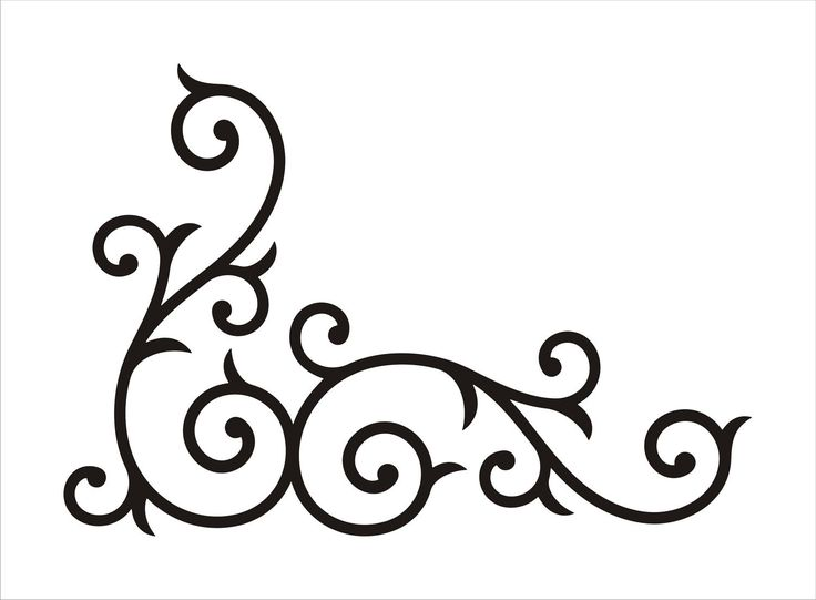 Interior Designs clipart swirl On Etsy ideas Wrought on